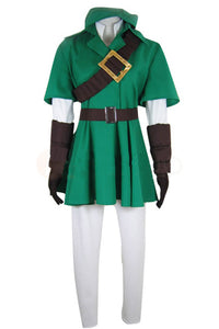 The Legend of Zelda Link Uniforme Cosplay Costume