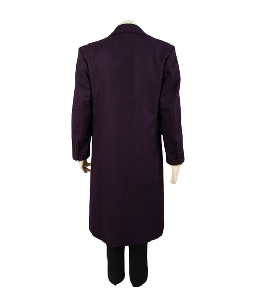 The Dark Knight:Le Chevalier noir Joker Manteau Pourpre Cosplay Costume