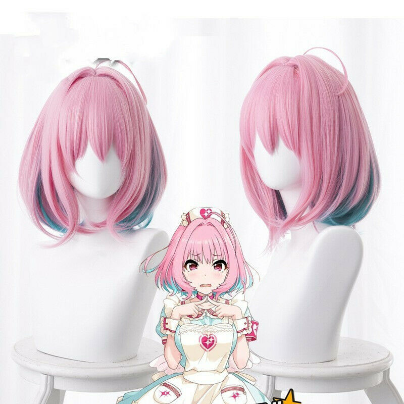 The Idolmaster Cinderella Girls Riamu Yumemi Cosplay Perruque