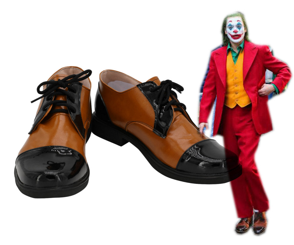 The Joker 2019 Film Joaquin Phoenix Arthur Fleck Joker Cosplay Chaussures
