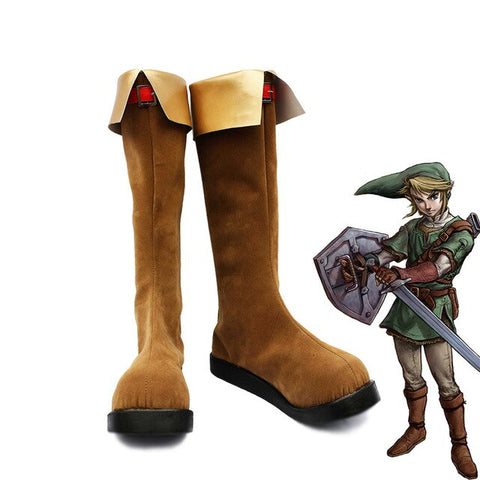 The Legend of Zelda Link Cosplay Chaussures Ver.2