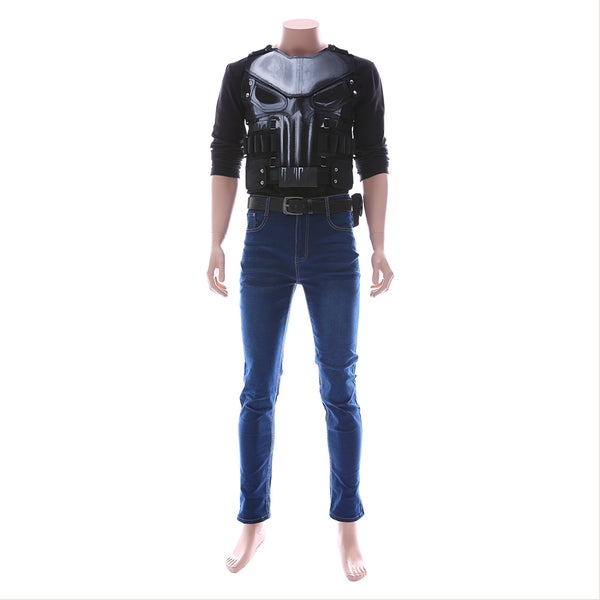 The Punisher 2 Frank Castle Cosplay Costume
