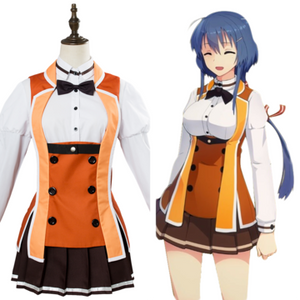 Toji no Miko/The Shrine Maiden Swordwielders Osafune Academy Uniforme Scolaire