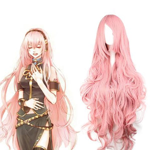 Vocaloid 2 Cosplay Megurine Luka Perruque Rose