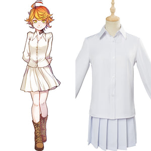Yakusoku no Neverland The Promised Neverland Emma Cosplay Costume