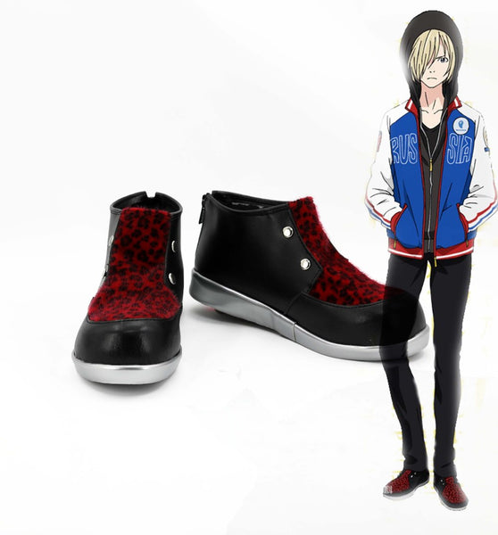Yuri on Ice Yuri Plisetsky Chaussures Cosplay Chaussures