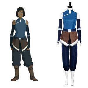 Avatar:The Legend of Korra Season 4 Korra Halloween Carnaval Cosplay Costume