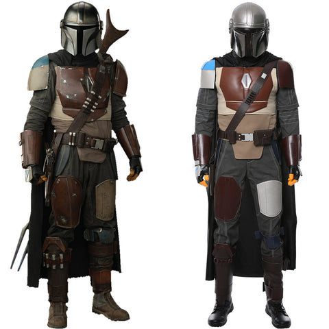 Star Wars TV The Mandalorian Mandalorian Cosplay Costume