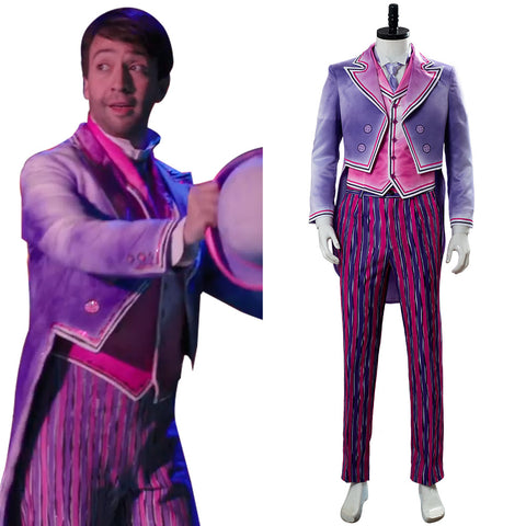 Le Retour de Mary Poppins Jack Tenue Cosplay Costume