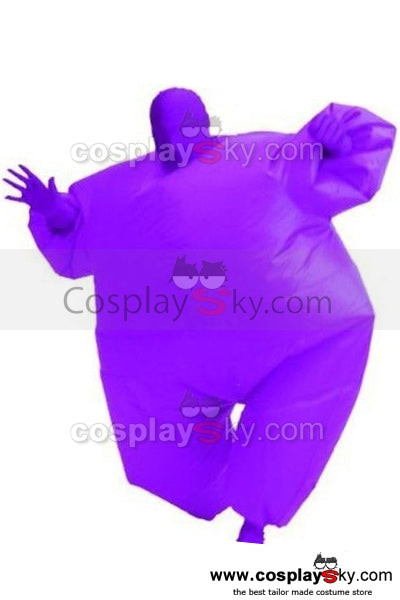 Gonflable Combinaison Costume Version Pourpre Cosplay Costume