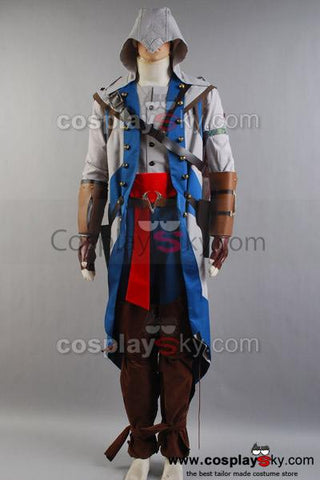 Assassin's Creed 3 Connor Kenway Cosplay Costume