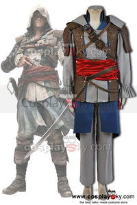 Assassin's Creed 4 Black Flag Edward Kenway Cosplay Costume