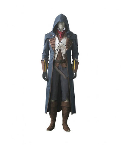 Assassin's Creed Unity Arno Dorian Ver. 2 Cosplay Costume