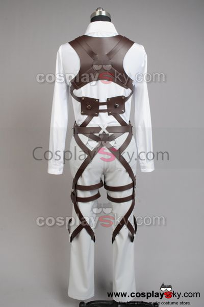 Shingeki no Kyojin Attack on Titan Mikasa Ackerman Cosplay Costume