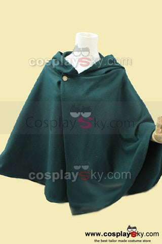 Attack on Titan Shingeki no Kyojin Cape Cosplay Costume