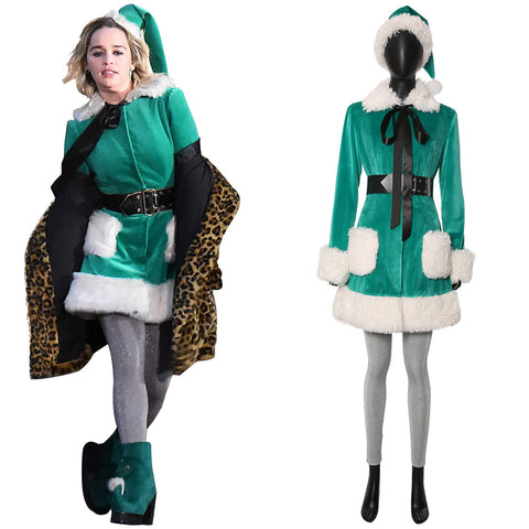 2019 Film Last Christmas Kate Cosplay Costume