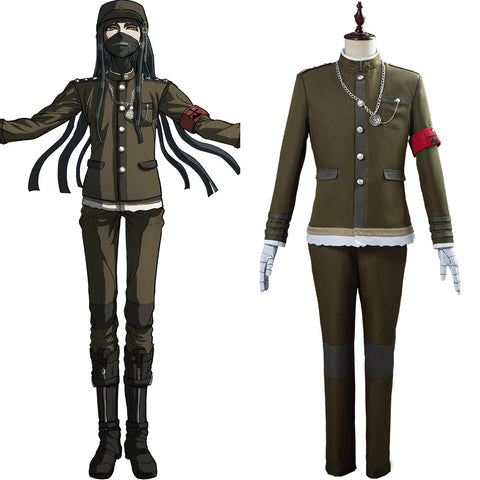 Danganronpa V3 Korekiyo Shinguji Uniforme Tenue Halloween Carnaval Cosplay Costume