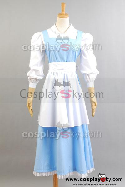 La Belle et la bête Belle Robe Cosplay Costume