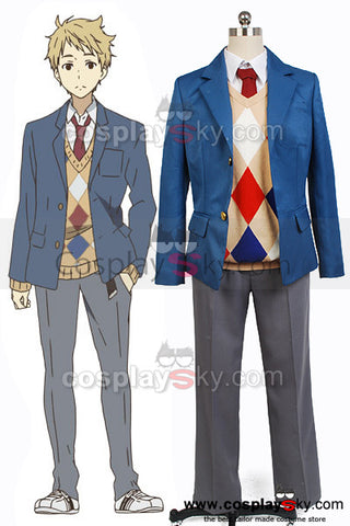 Beyond the Boundary Akihito Kanbara Cosplay Costume