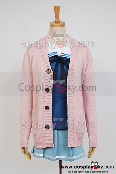 Beyond the Boundary Mirai Kuriyama Cosplay Costume