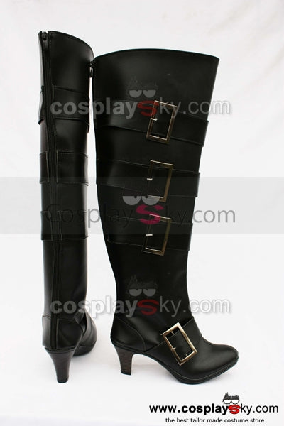 Black Butler Under Taker Cosplay Chaussures