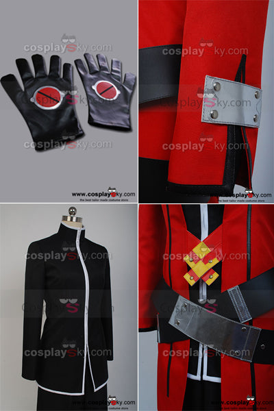BlazBlue: Calamity Trigger Uniforme Ragna the Bloodedge Cosplay Costume