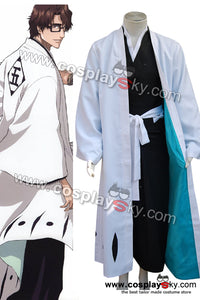 Bleach Capitaine Aizen Sousuke Cosplay Costume