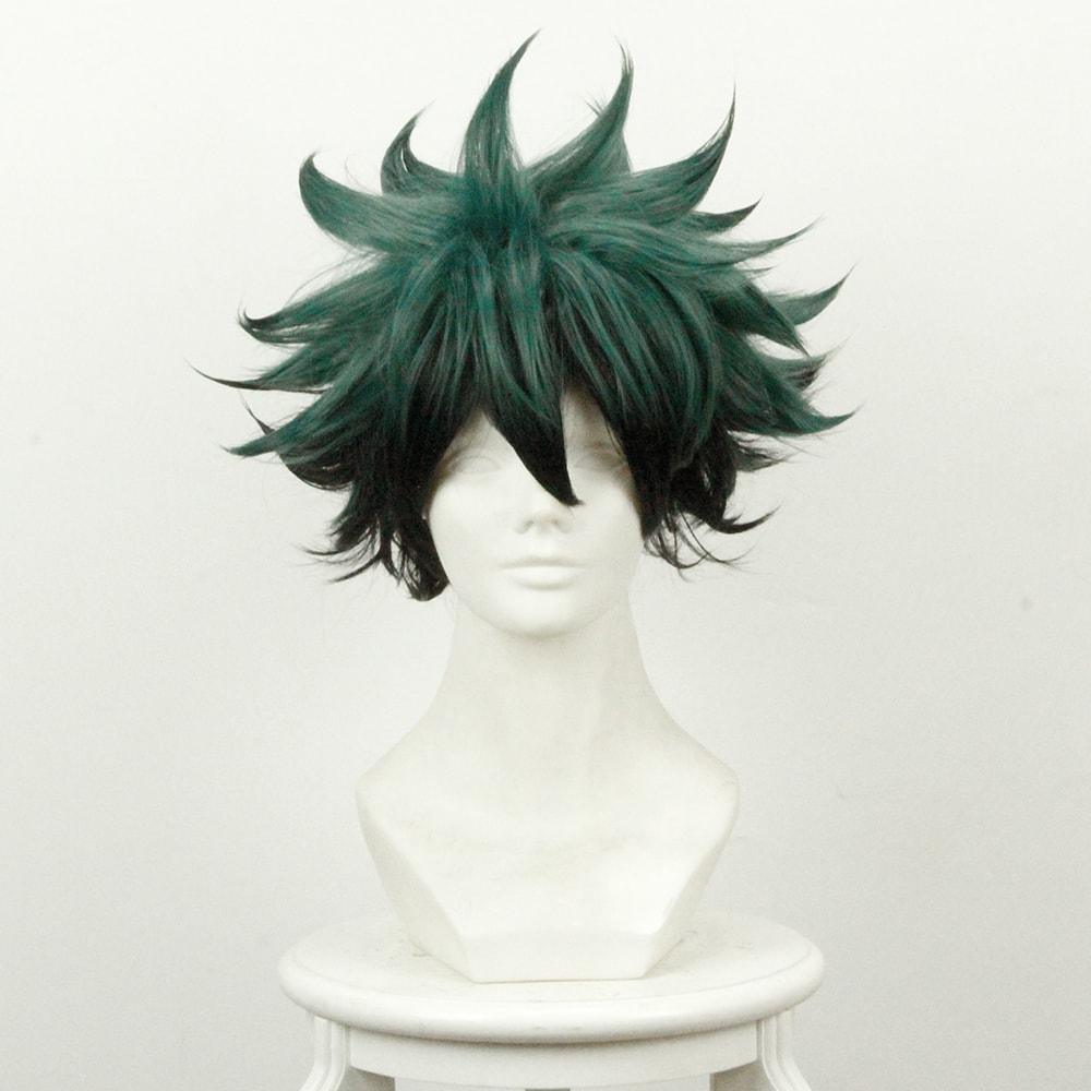 Boku no Hero Academia Izuku Cosplay Perruque
