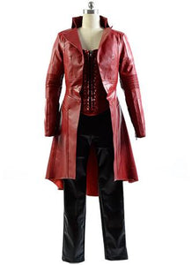 Captain America Civil War Sorcière Rouge Wanda Cosplay Costume