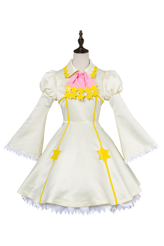 Cardcaptor Sakura Clear Card Kinomoto Sakura Star Battle Dress Cosplay Costume