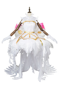 Cardcaptor Sakura:Clear Card Sakura Kinomoto Angel Cosplay Costume