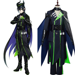 Halloween Tenue Twisted Wonderland  Malleus Draconia Cosplay Costume