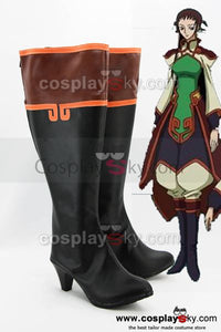Code Geass Chinese Federation Cosplay Chaussures