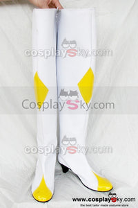 Code Geass: Lelouch of the Rebellion Botte Blanche Cospectre Chaussures