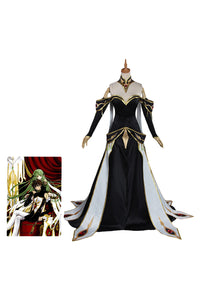 Code Geass: Lelouch of the Rebellion CC C.C. Cosplay Costume