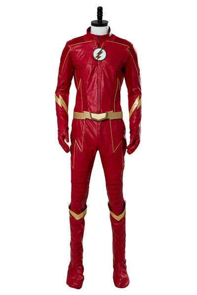 DC The Flash Grant Gustin Flash Cosplay Costume