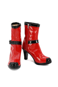 Deadpool Cosplay Version Femme Bottes Cosplay Chaussures