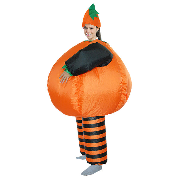 Deguisement Citrouille Gonflable Costume Adulte Halloween Cosplay Costume