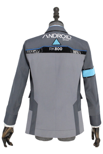 Detroit: Become Human Connor RK800 Agent Cosplay Costume
