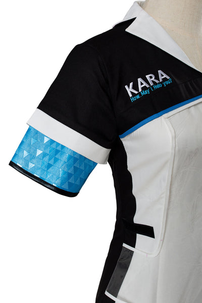 Detroit: Become Human KARA Code AX400 Agent Cosplay Costume