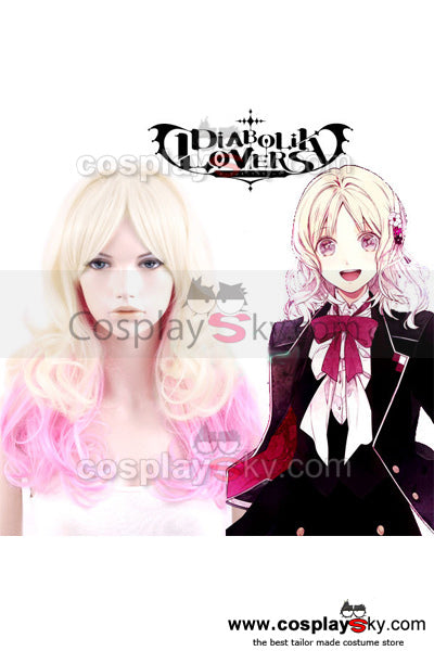 DIABOLIK LOVERS Yui Komori Cosplay Perruque