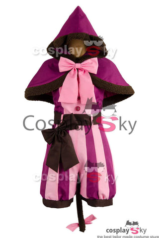 Disney Alice au pays des merveilles Chat du Cheshire Ver.2 Cosplay Costume