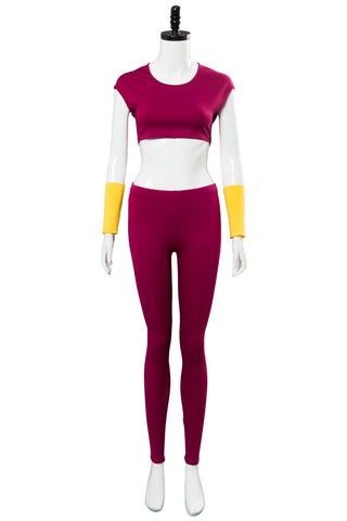 Dragon Ball Super Kefla Kefura Legendary Super Saiyan Potara Fusion Cosplay Costume