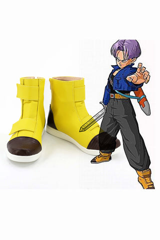 Dragon Ball Super Trunks Bottes Cosplay Chaussures