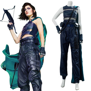 2020 Film Birds of Prey Huntress Helena Bertinelli Cosplay Costume