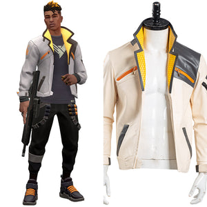 Valorant Phoenix Manteau seulement Cosplay Costume