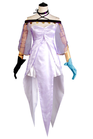 Fate Grand Order Caster Lily Medea Robe Cosplay Costume