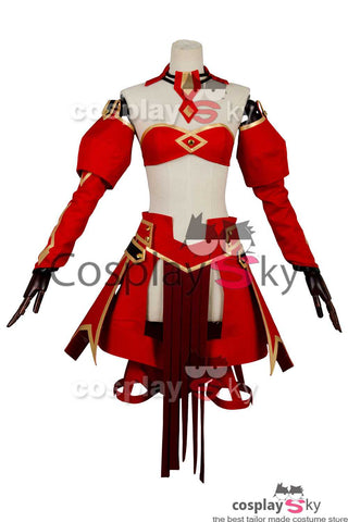 Fate/Apocrypha FA  Saber of Red Mordred Robe Cosplay Costume