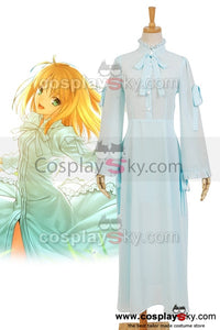 Fate/stay night Saber  Arthur Arturia Robe Cosplay Costume
