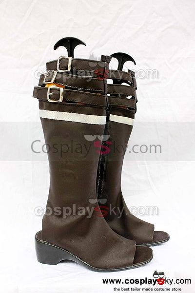 Final Fantasy 13 Oerba Yun Fang Cosplay Chaussures